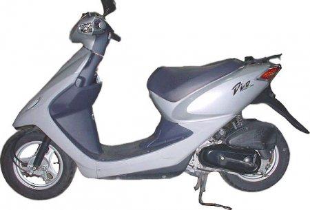 Honda Dio обзор скутера