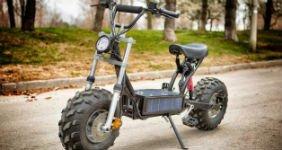 Семиклассник собрал инновационный скутер
