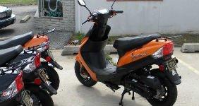 У неплательщика алиментов отобрали скутер