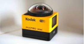 Kodak выпускает камеру с обзором 360 градусов (ВИДЕО)