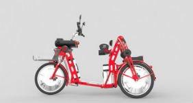 Готовится к выпуску электротрицикл с местом для пассажира (ВИДЕО)