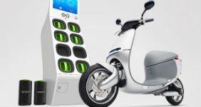 Выпущен скутер на батарейках