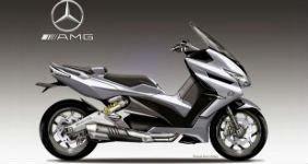 Появился концепт скутера Mercedes