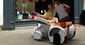 Разработан концепт скутера для инвалидов